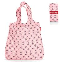 Сумка складная mini maxi shopper bavaria rose, Reisenthel