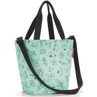 Сумка детская Shopper XS cats and dogs mint, Reisenthel