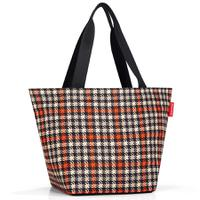 Сумка Shopper M glencheck red, Reisenthel